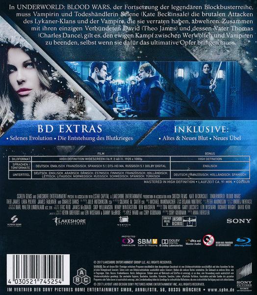 Underworld Blood Wars Film Auf Blu Ray Disc Ausleihen Bei