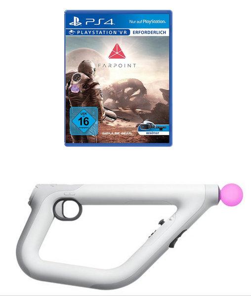 Farpoint Aim Controller Playstation Vr Fur Playstation 4 Ausleihen Bei Verleihshop De