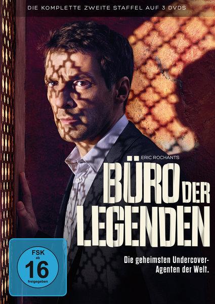 Buro Der Legenden Die Komplette Zweite Staffel 3 Dvds Serie Auf
