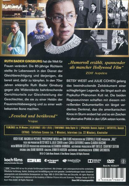 Rbg Ein Leben Für Die Gerechtigkeit Film Auf Dvd Ausleihen