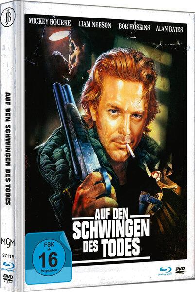 Auf den Schwingen des Todes - Mediabook - Cover C - Limited Edition auf 444 Stück (+ DVD)