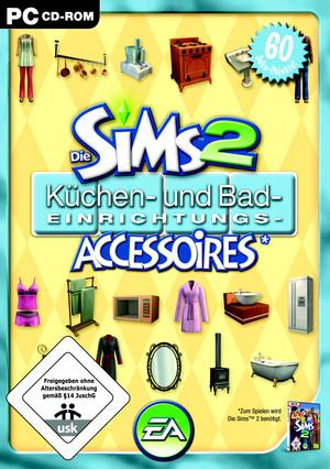 die sims 2 k chen und bad einrichtungs accessoires add on spiel f r pc ausleihen bei. Black Bedroom Furniture Sets. Home Design Ideas